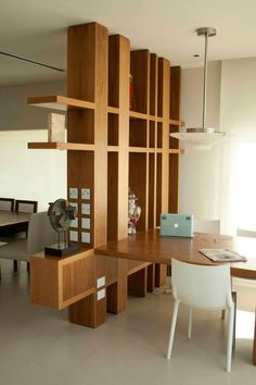 perfect room divider design ideas for decorating your home page 7 Living Room Partition Design, Living Room Divider, Room Partition Designs, Wood Partition, Room Divider Shelves, Divider Design, Divider Ideas, Room Deviders, Wooden Room Dividers