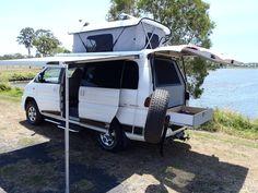 Mitsubishi Delica 4wd Campervan | Xcentrix Mobile Living, Living On The Road, Campervan, Van Life, Road Trip, Vans, Camping, Adventure, Vehicles