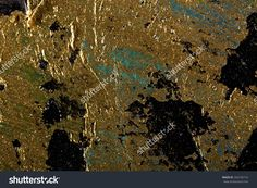 Art Abstract Golden Painting With Colorful Blots. Oil On Canvas Grunge Background With Space For Text Or Image Stock Photo 260745716 : Shutterstock