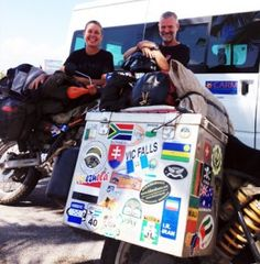 Meet a Couple Traveling the World for Six Years on Motorcycles