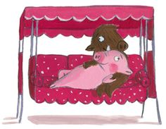 Pig Illustration, Illustrations, Pig Drawing, My Precious, Animals Of The World, Cute Drawings, Cute Animals, Doodles, Comics