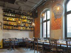 Das NENI-Restaurant im 25hours Hotel Hamburg - Altes Hafenamt Hamburg, Osakaallee 12, 20457 Hamburg