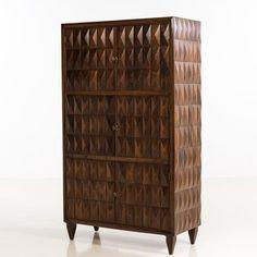 Paolo Buff, Attribué à, Cabinet, Bois - Date de création : années 1940 - H [...], Design Selected + Art dont Hommage à Momcilo Milovanovic (1921-2013) à Piasa | Auction.fr