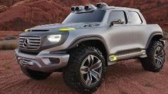 Mystery ... An artist's impression of how the first-ever Mercedes-Benz ute could look. Pi