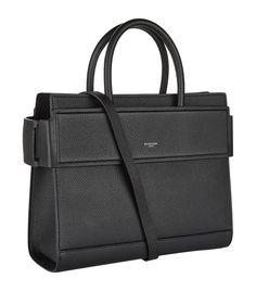 357c7e33c9 Givenchy -  Horizon  black leather bag.