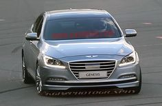 2015 Hyundai Genesis caught totally uncovered