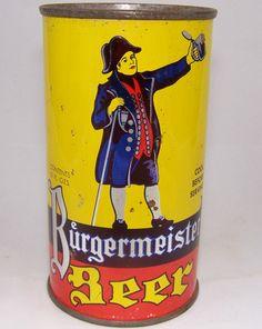 Burgermeister Beer, Lilek # 181, Grade 1- – Beer Cans Plus