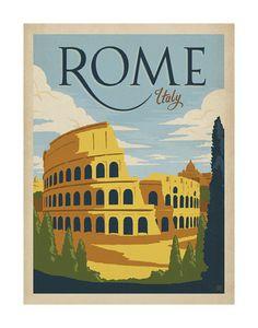 Rome, Italy Art Print at AllPosters.com