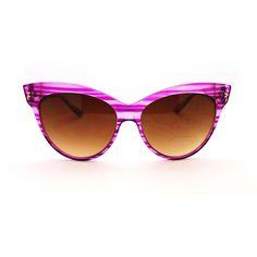Óculos Estilo Gatinha Pink