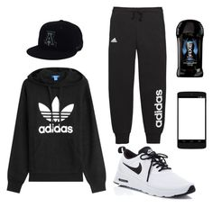 Untitled #4 by fragilerose14 on Polyvore featuring polyvore, NIKE, Axe, adidas Originals, adidas, Nexus, men's fashion, menswear and clothing