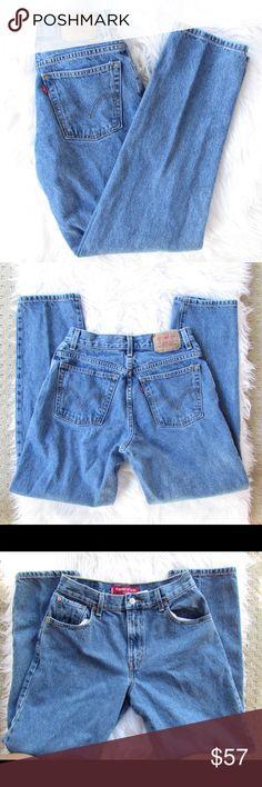 Vintage Levi's Jeans mint condition, size: 8M, high waisted Levi's Jeans Straight Leg