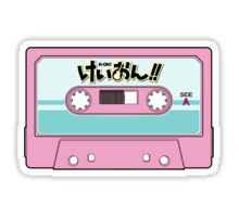 K-on Cassette Tape Sticker