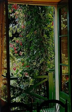 Doorway in the home of Claude Monet (Giverny/ France)