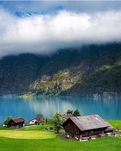 Instagram Wallensee Lake, Switzerland 🇨🇭