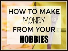Working a day job is something most of us do, and whether you love it or not, there is no other option. What if I had told you, you can make money from the things that you love to do like your hobbies. Yes, you can make a good side hustle of your hobbies.