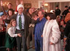 It's not Christmas without watching this hysterical movie at least once!  Christmas Vacation with Chevy Chase.