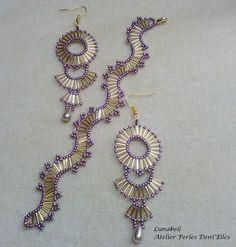Seed Bead Necklace, Seed Bead Jewelry, Bead Jewellery, Beaded Earrings, Beaded Bracelets, Handmade Beads, Handmade Jewelry, Knitted Necklace, Diy Bracelets Easy