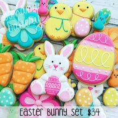 This set can be customized for small or large platters or baskets! Easter…