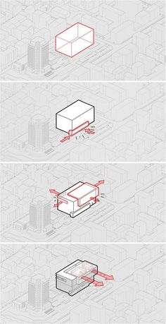 cưng architects proposes transparent structure for varna lib.- cưng architects proposes transparent structure for varna library comp. – the proposed 'library' is constructed using a mix of monochromatic polycarbonate and glazed pan – Architecture Concept Drawings, Facade Architecture, Landscape Architecture, Architecture Diagrams, Landscape Concept, Urban Concept, Marble Interior, Diagram Design, Hotel Concept