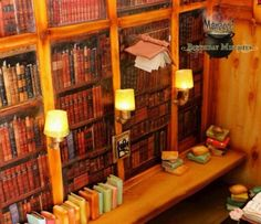 'Harry Potter' Library Cake: Where Do I Sign Up For A Library Card?
