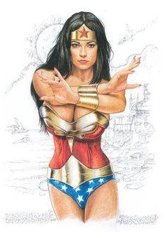 WonderWoman. The best, bad ass, female super hero, ever.