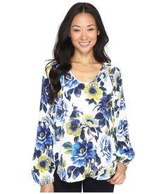 $128.0. KAREN KANE Top , Print #karenkane #top #blouse #clothing Karen Kane, Floral Tops, Clothes For Women, Sleeves, Fashion Design, Women's Clothing, Outfits, Mall, Down Vest