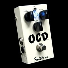 Fulltone OCD Overdrive- Classic pedal, Fulltone USA delivers an amp like overdrive in a compact pedal. One of my personal favorites, and currently on my personal board. The OCD is one of my go to drives. Great versatility, if you haven't tried one, you should definitely check it out!
