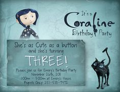 Omg Ava pry SO rather would have had a Coraline bday party! I never thought of THAT!