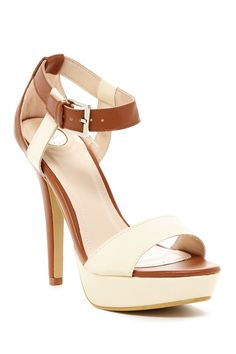 Leura Colorblock Sandal by Elegant Footwear on @nordstrom_rack