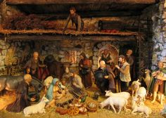 French nativity scene featuring santons from Provence. http://www.francetoday.com/articles/images/2010/12/1385-2840.main_f.jpg