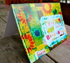 Inspirational Greeting Card 5 x 7 blank inside by KathleenTennant, $5.00