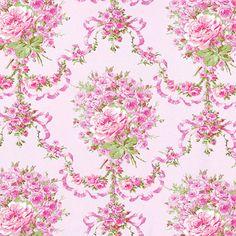 Cotton-100-Bedding-Clothwork-Vintage-Antique-Rose-Damask-pattern-Candy-Pink-44