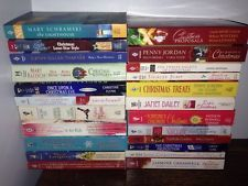 Lot of 23 Christmas Paperback Books The Lighthouse Janet Dailey Yuletide Cowboy