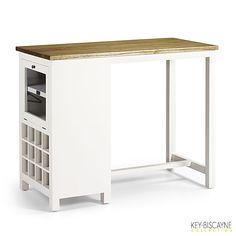 Table comptoir en acajou massif Key Biscayne | krea