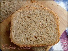 Ekmek Makinasında Çavdarlı Ekşi Mayalı Ekmek - Sourdough Rye Bread