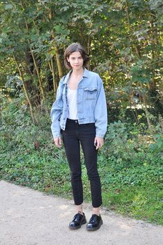 Alba Galocha, Paris Fashion Week (via Bloglovin.com )