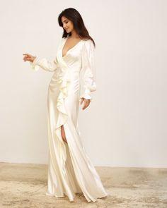Elegant Modern Silk Wedding Dresses for 2022 Brides – Zoe Rowyn Bridal – Bridal Musings 28