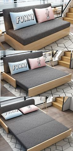 Sleeper sectional sofa for small spacesYou can find Sofa beds and more on our website.Sleeper sectional sofa for small spaces Sofa Bed For Small Spaces, Small Space Living Room, Small Rooms, Best Sleeper Sofa, Sleeper Sectional, Small Sleeper Sofa, Modern Sleeper Sofa, Bedroom Couch, Living Room Sofa
