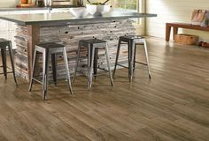 Armstrong 'Vivero' Luxury Vinyl Flooring:  The most durable flooring from Armstrong.  Made with 'Diamond 10' Technology for long lasting durability and easy cleaning.  More scratch and stain resistance than other competitive luxury flooring products.  100% waterproof planks.