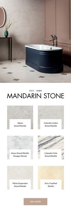 View our collection of beautiful marble tiles and flooring at Mandarin Stone, from traditional to dramatic marble floor and wall tiles. Marble Tiles, Stone Tiles, Hall Tiles, Mandarin Stone, Diy Projects For Bedroom, Bathroom Interior, Bathroom Ideas, Tile Floor, Malaga