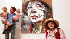 Ben Quilty and Margaret Olley with Quilty's Archibald winning portrait of Olley in 2011 Australian Painters, Australian Artists, Artist Art, Artist At Work, Pet Trailer, Artist Workspace, Visual And Performing Arts, Art Photography, Drawings