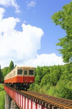 Kominato Railway, Chiba, Japan