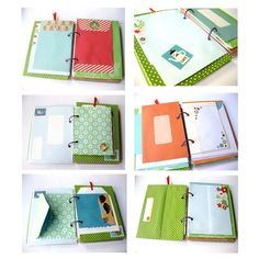 Envelope art journal:  wonderful way to use those leftover or used but beautiful envelopes!