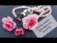 Eminem, Needlework, Crochet Necklace, Make It Yourself, Bracelets, Ali, Jewelry, Crochet Flowers, Craft