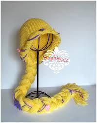 Resultado de imagem para rapunzel crochet hat
