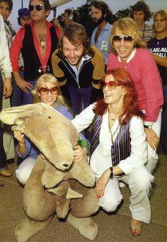 ABBA in 1977 Australia