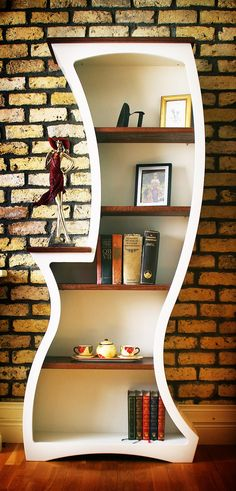 Unique bookcase