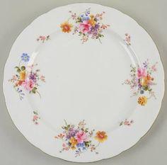 "Royal Crown Derby Derby Posies 14"" Chop Plate (Round Platter)"
