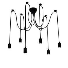 Signstek: 6 Ampoules de Lustre Vintage Lampe/Applique Plafond Rétro pour Salon/Salle à manger/Salle d'étude Décoration de la maison Signstek http://www.amazon.fr/dp/B018U3XGB8/ref=cm_sw_r_pi_dp_bXBzwb1GPG2SP