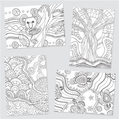 Colouring In Sheets for NAIDOC Week Aboriginal Culture, Aboriginal Art, Coloring Sheets, Colouring, Naidoc Week, Quick And Easy Crafts, Craft Activities, Colored Pencils, Art Gallery